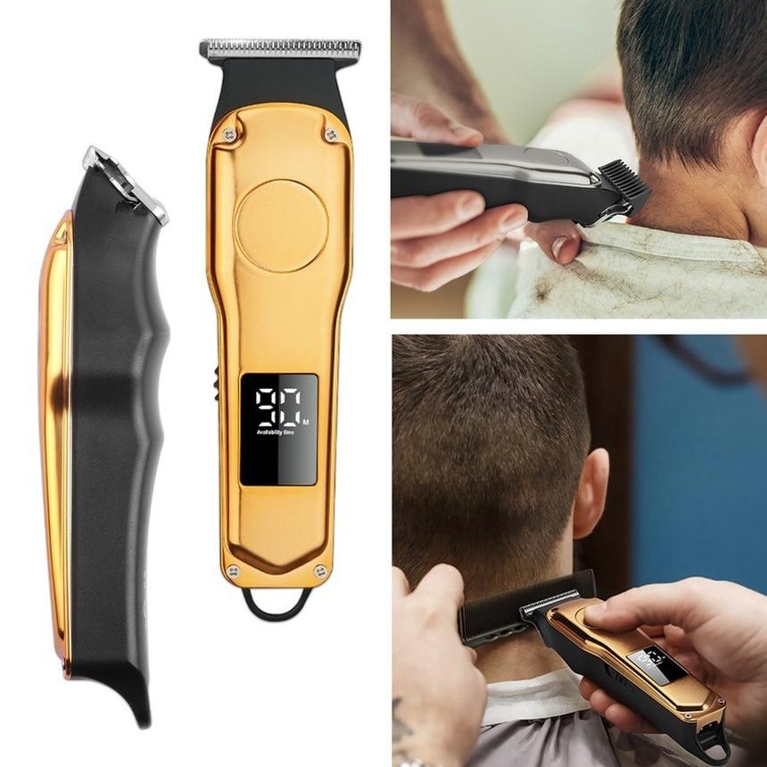 Máquina cortadora de pelo inalámbrica para hombre, máquina Profesional para cortar el...