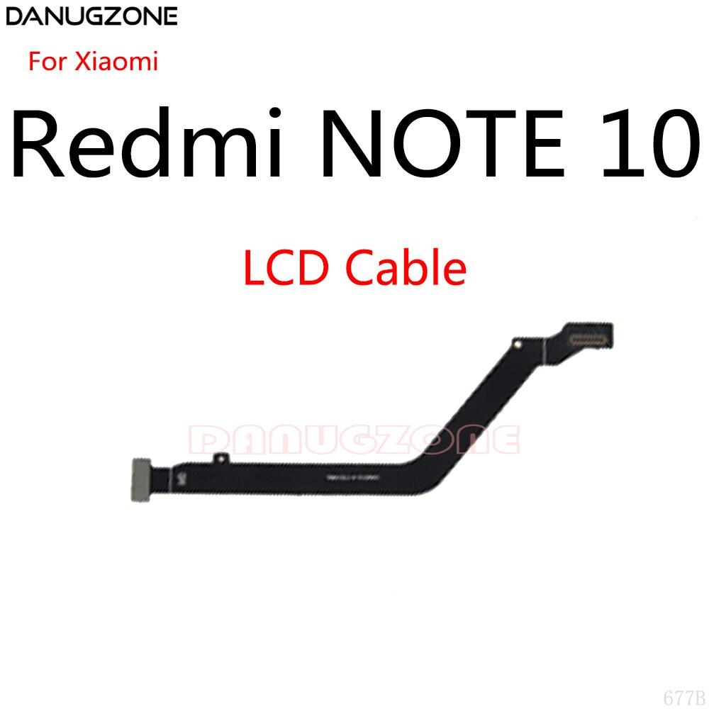 50 قطعة/الوحدة ل شاومي Redmi نوت 10 LCD عرض اللوحة الرئيسية توصيل كابل اللوحة الأم الكابلات المرنة