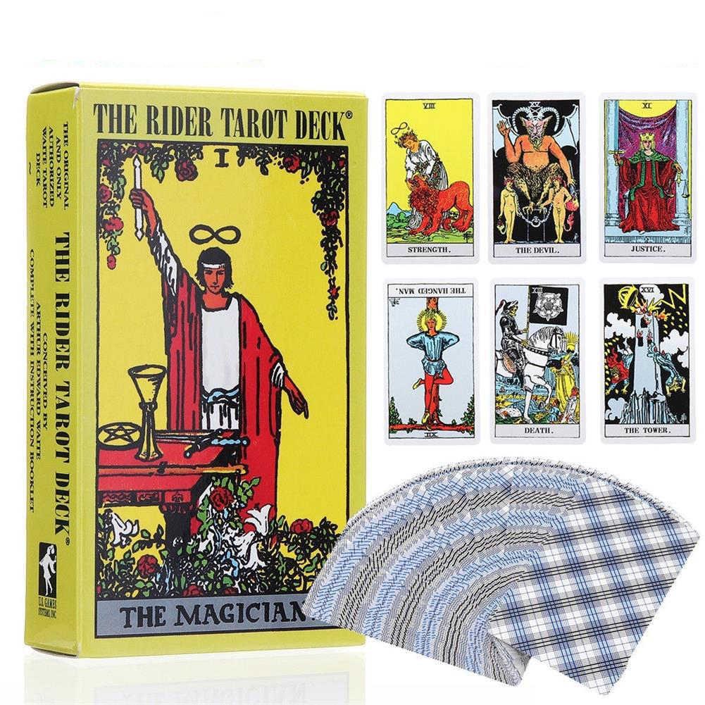 Карты Таро, колода, ведьмахство, карточка с изображением оракула для дома, духовная семья, настольные игры, Современная ведьма, подарки