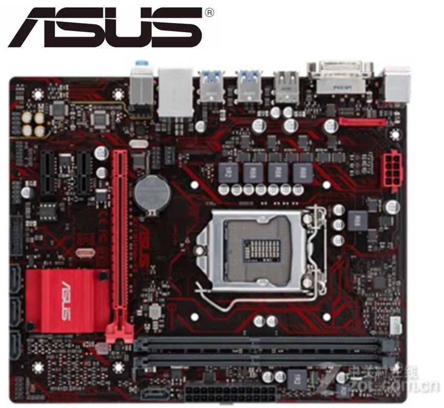 Asus EX-B150M-V3 настольная материнская плата B150 LGA 1151 DDR4 для Core i7 i5 i3 32G USB3.0 Micro ATX оригинальная б/у материнская плата
