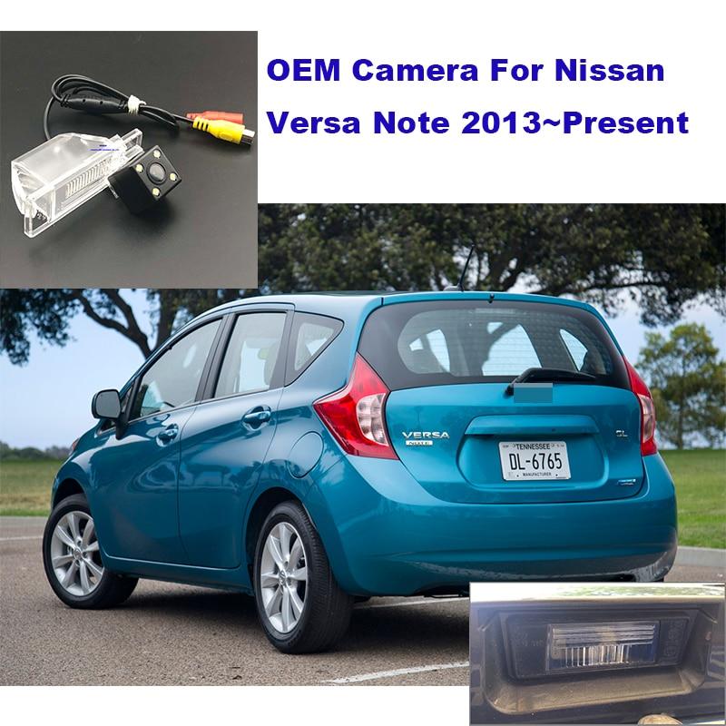 Auto Camera Voor Nissan X Trail X-Trail Qashqai Juke Sunny Versa NV200 Maart Nissan Versa Note 2013 ~ 2019 Reverse Achteruitrijcamera