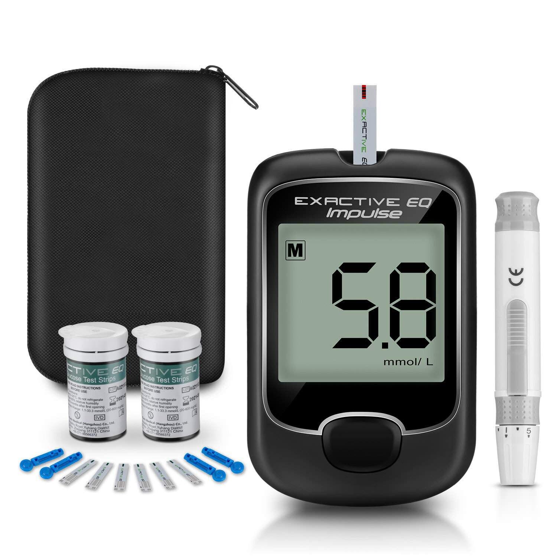 Medidor automático de glucosa en sangre eq-im, medidor de hiperglicemia, tiras de prueba de diabetes, equipo médico microtech