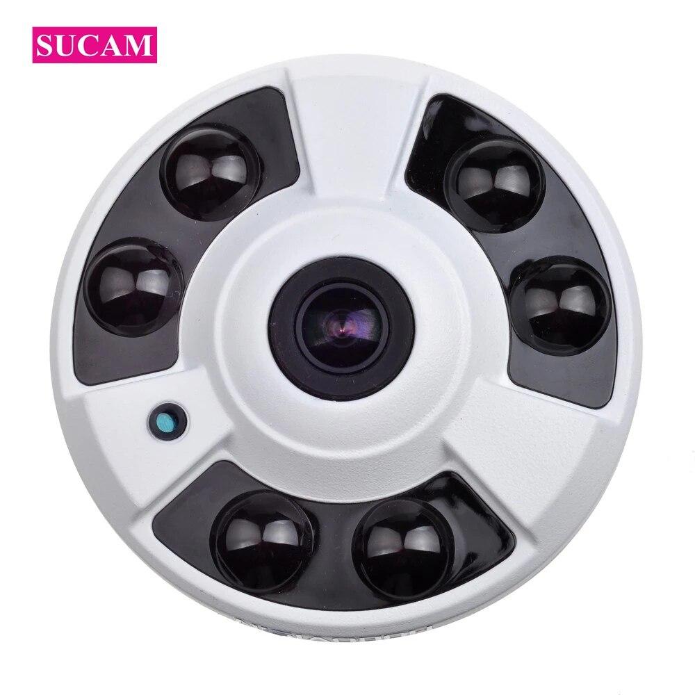 5MP IP камера Ethernet 180 градусов Домашняя безопасность купольная камера видеонаблюдения IP Сетевая камера s XMEye APP
