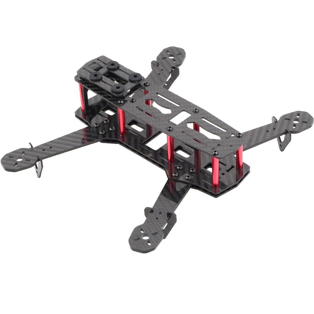 Fibra de carbono mini 250 fpv quadcopter quadro mini quad quadro para zmr250 qav250 (desmontado)