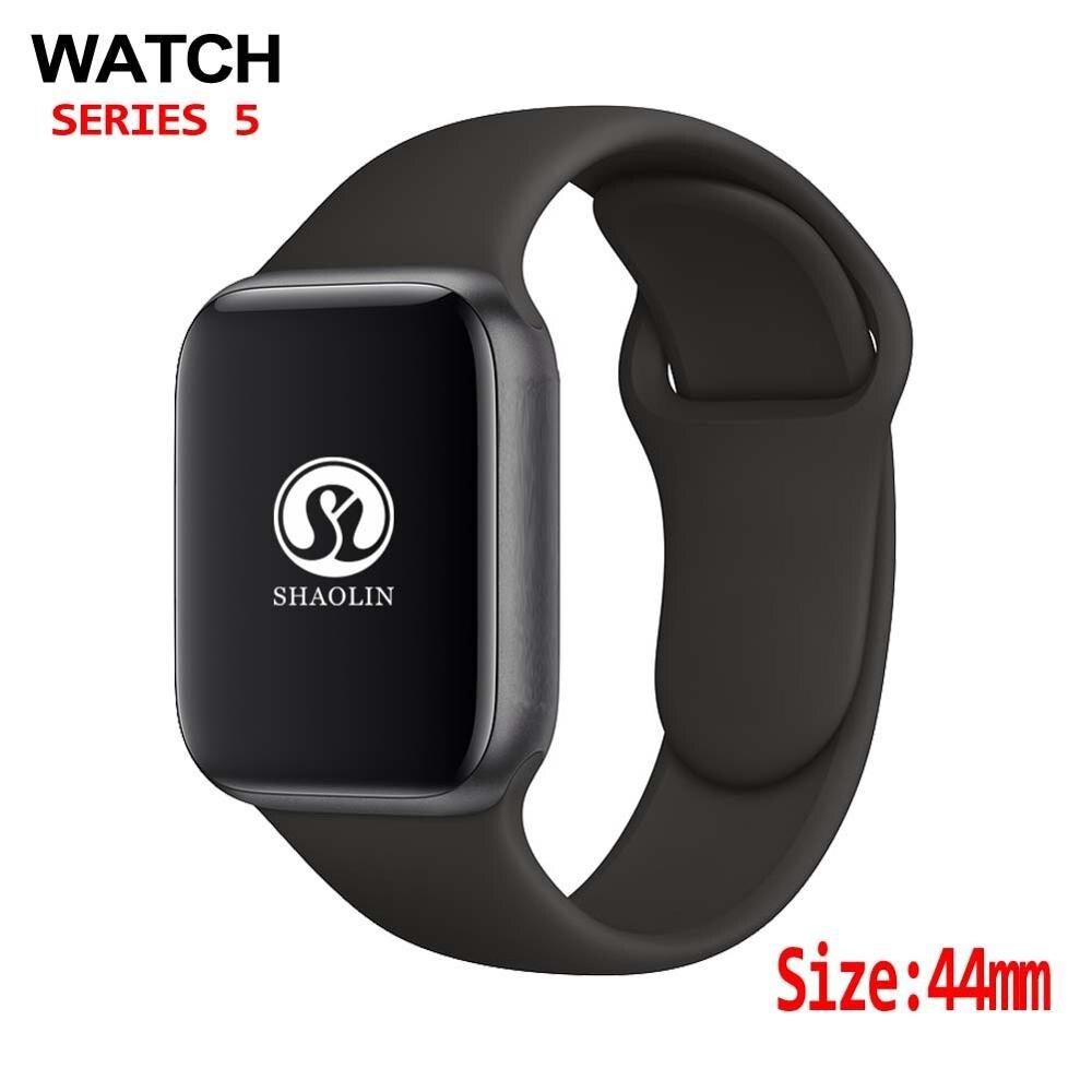 ساعة ذكية 44 مللي متر السلسلة 4 ، ساعة ذكية تعمل بتقنية اتصال البلوتوث ، رسالة دفع لهاتف Android ، IOS ، apple Watch iPhone 7 8 X