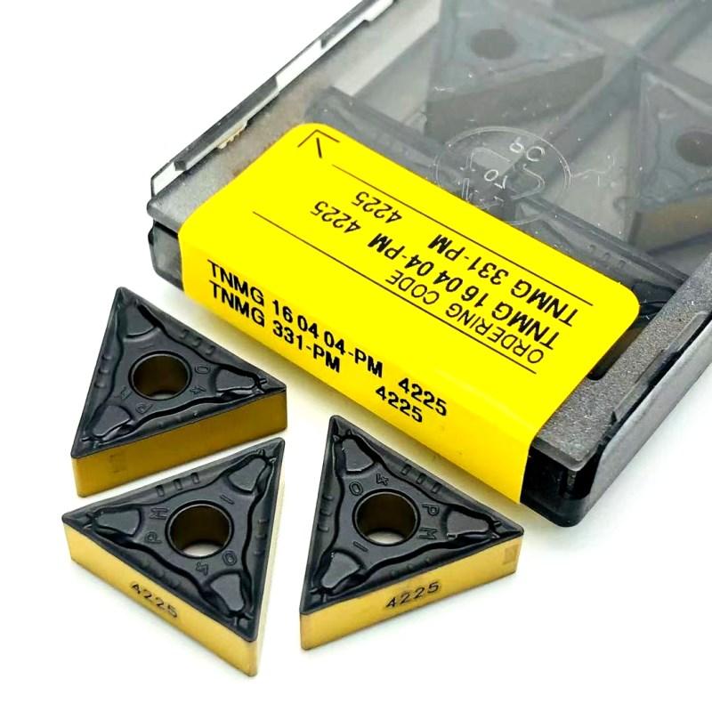 Фото - Carbide inserts TNMG160408 TNMG160408 PM 4225 High-quality new metal turning tools CNC machine tools turning tools turning tools sunex tools