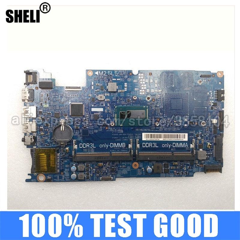 DOH50 12311-1 I7-4500U SHELI CN-0C8YDH 0C8YDH C8YDH الكمبيوتر الدفتري اللوحة اختبار جيدة لديل انسبايرون 7537 اللوحة المحمول
