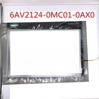 6AV2124-0MC01-0AX0 novo Toque De Vidro + película Protetora para SIMATIC HMI TP1200 12 painel de toque 6AV2 124-0MC01-0AX0 6AV2