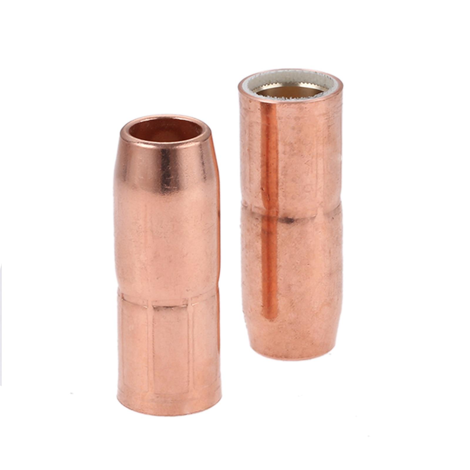 """2Pcs MIG Welding Nozzles 169-726 5/8"""" Flush Fit for Miller M25 M40 Hobart Gun"""