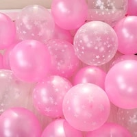 12inch baby pink balloon pentagram pearl latex balloons birthday party baby shower wedding decoration valentines day layout