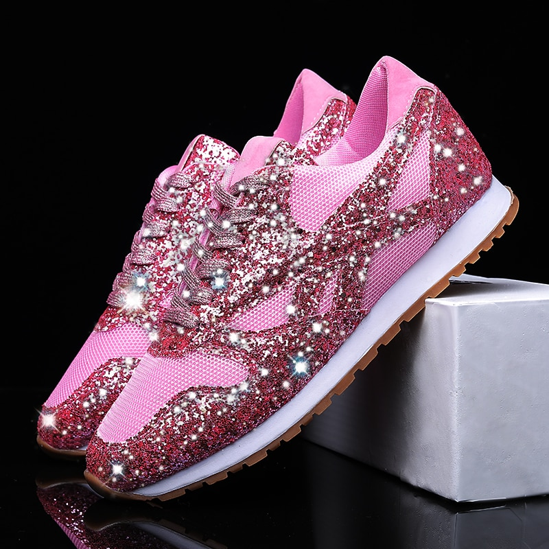 36-43 Plus Size Women Running Shoes Fashion Casual Flats Breathable Womens Sneakers Tenis Feminino C