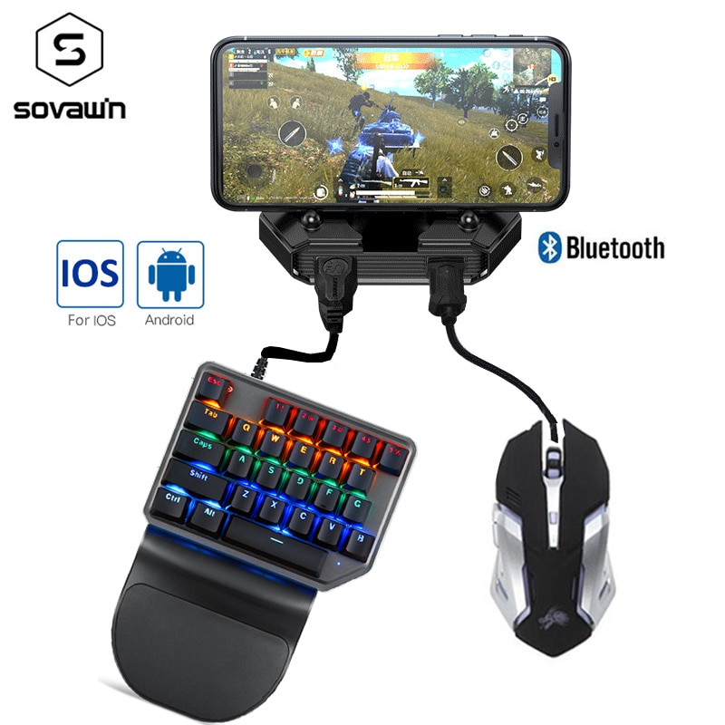 Gamepad Pubg Mobile Bluetooth 5.0 Android PUBG Controller Mobile Controller Gaming Keyboard Mouse Co