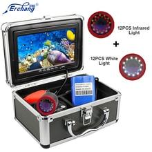 Erchang DV3524E 1000TVL caméra de pêche sous-marine 15M câble étanche caméra poisson Finder 7