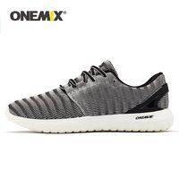 Кроссовки ONEMIX мужские легкие для бега и ходьбы, эластичные мягкие дышащие спортивные туфли, лето 2021