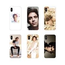 Para o iPhone Da Apple X XR XS 11Pro MAX 4S 5S 5C SE 6S 7 8 Plus ipod touch 5 MIKA 6 Penniman Acessórios Phone Cases Covers