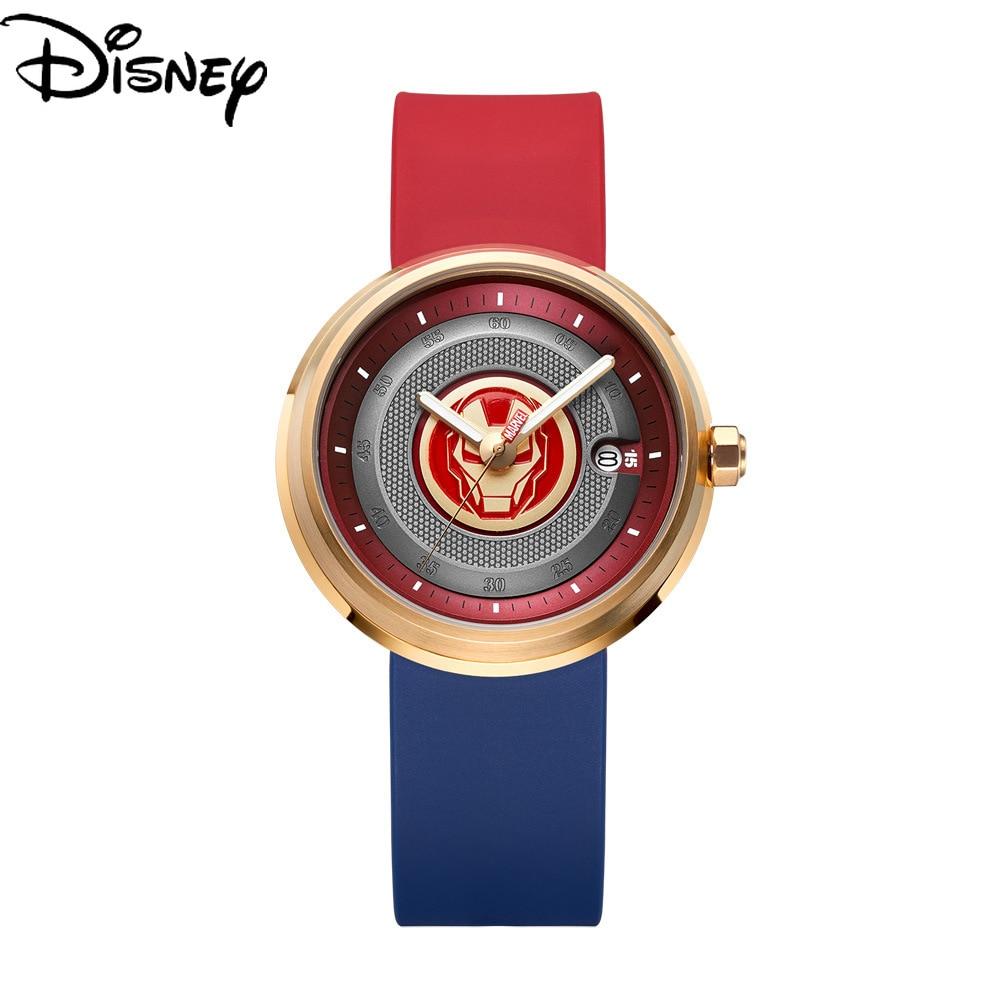 Disney Marvel 2021 New Retro Hero Casual Trend Personality Student Watch Men's Quartz Waterproof Watch