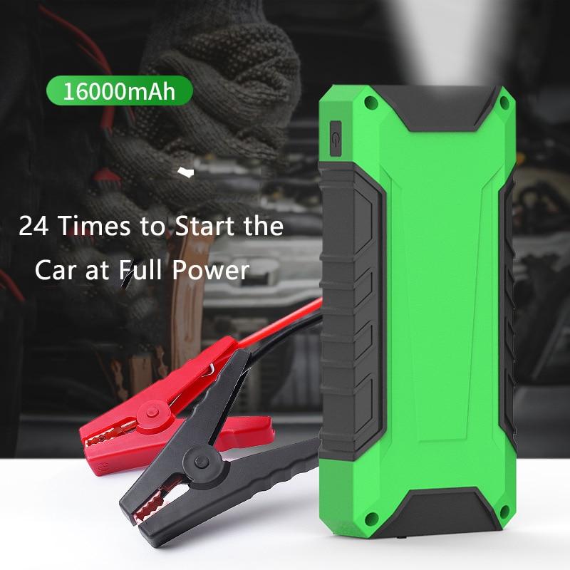 600a carro de emergencia ir para iniciantes power bank 16000 mah carregador portatil