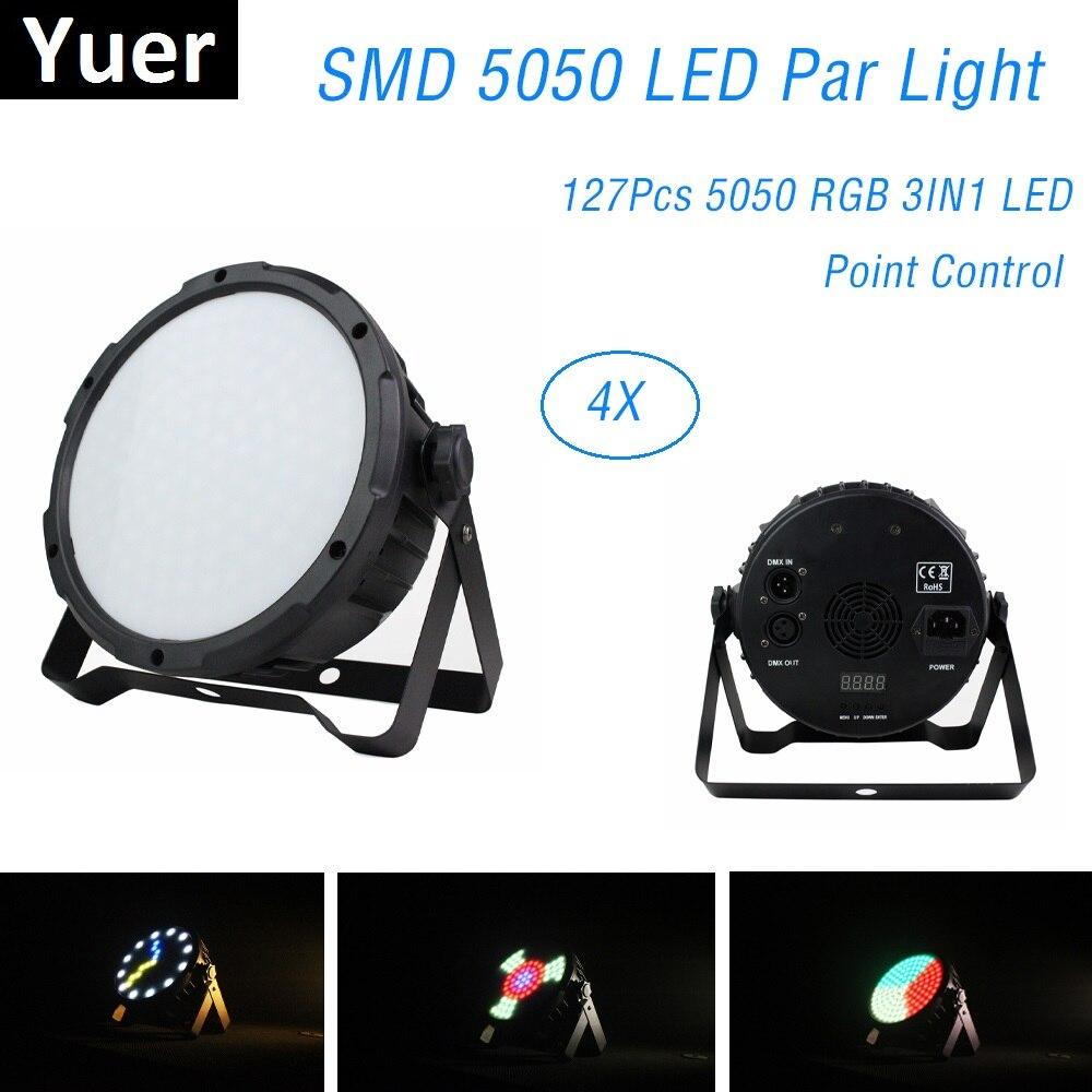 127 SMD 5050 LED أضواء بار RGB 3 في 1 ، نقطة تحكم DMX512 ، ديسكو ضوء ، موسيقى احترافية ، مسرح Dj ، معدات