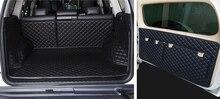 Tapis de coffre de voiture et de porte arrière   Ensemble complet, tapis de porte arrière pour Toyota Land Cruiser Prado 150 5 sièges, tapis de botte de fret étanche 2019-2010
