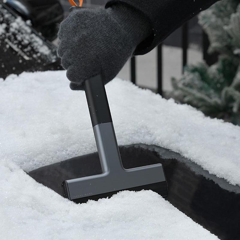 Vehicle-mounted removal shovel multifunctional automobile defrosting glass scraper winter deicing tool supplies