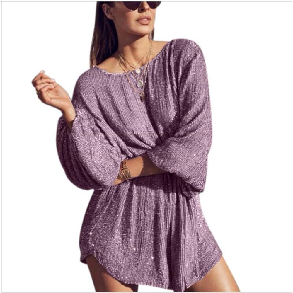 2020 printemps été dame femmes dames manches bouffantes Sexy Mini robe de plage élégant Sexy robe de soirée nouveaux Vestidos G320