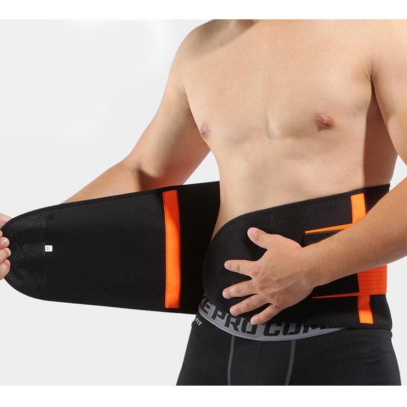 Waist Support Belt Back Waist Trimmer Belt Gym Train Waist Protector Weight Loss Sports Muscle Compression Body Shaper Trainer