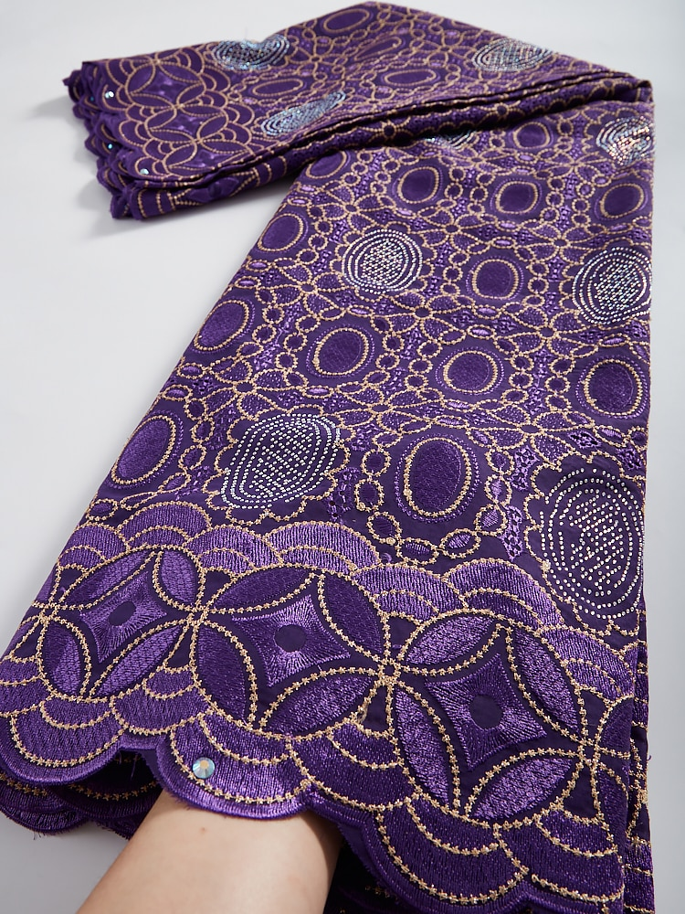African Lace Fabric 2021 High Quality Cotton Lace Material Swiss Lace In Switzerland Embroidery Swiss Voile Lace Fabric TY032 african 100% cotton lace fabric 2021 high quality lace material in switzerland embroidery swiss voile lace fabric ty013