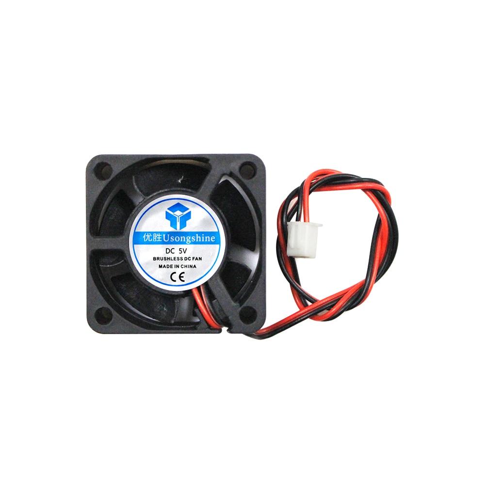 Ventilador com refrigeração dc 4020 ventilador 5v 12v/24v 4020 ventilação com extremidade quente extrusora para impressora reprap makerbot