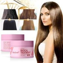Mascarilla nutritiva para el cabello de 60ml, mascarilla mágica para el tratamiento del cabello de queratina, mascarilla suave para el cuidado del cabello, mascarilla para el cabello de raíz de cabello dañada