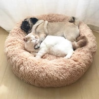 dog bed sofa round plush mat for dogs large labradors cat house pet bed dcpet best dropshipping center 2021 best selling product