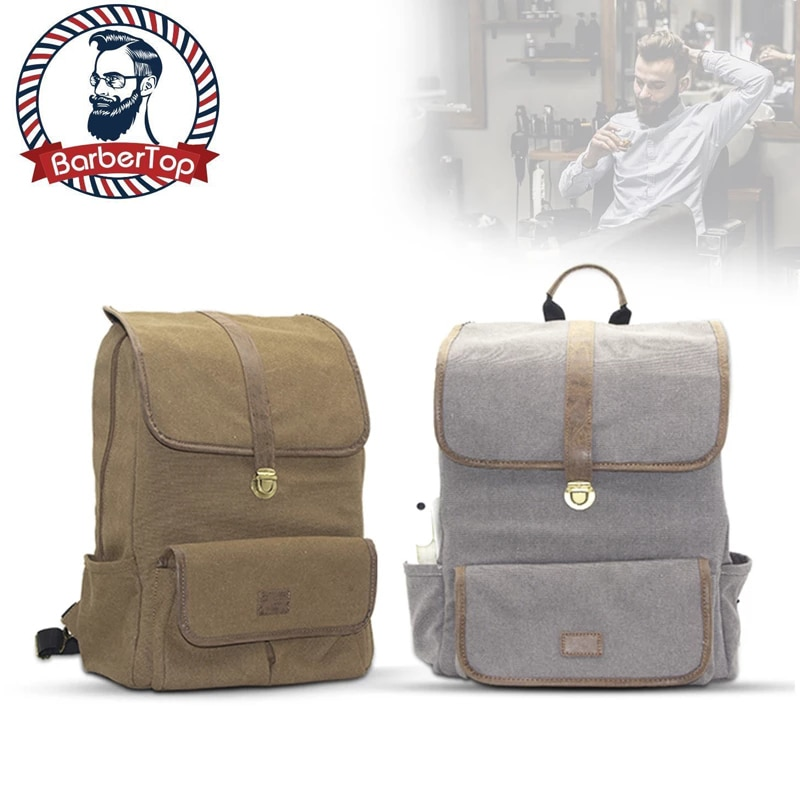 Barber Carrying Case for Barber Styling Tools Accessories Large Capacity Storage Backpack Travel Shoulders Bag