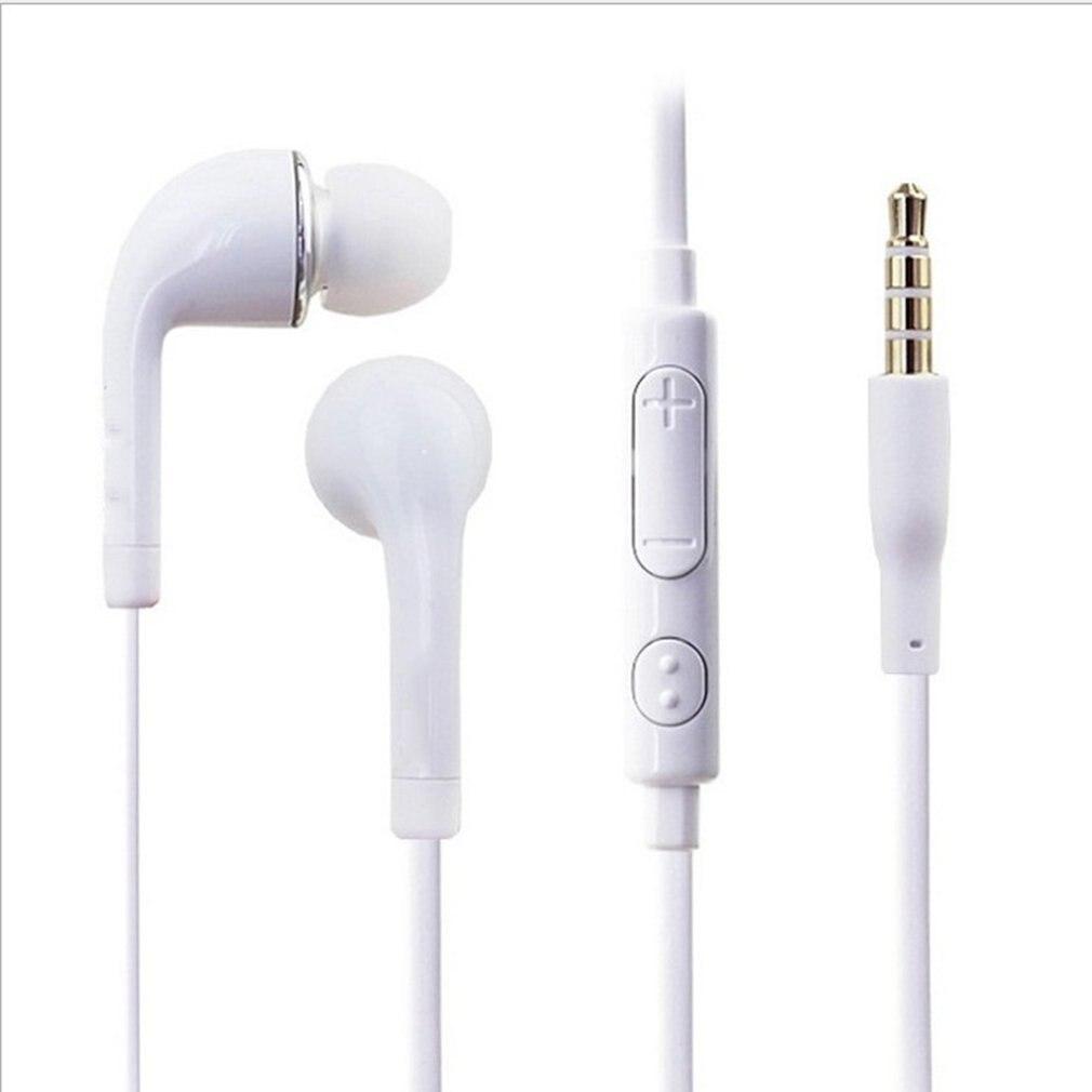 Проводные наушники-вкладыши 3,5 мм, гарнитура с микрофоном для смартфонов Samsung Galaxy S3 SIII i9300 NI5, высококачественные наушники