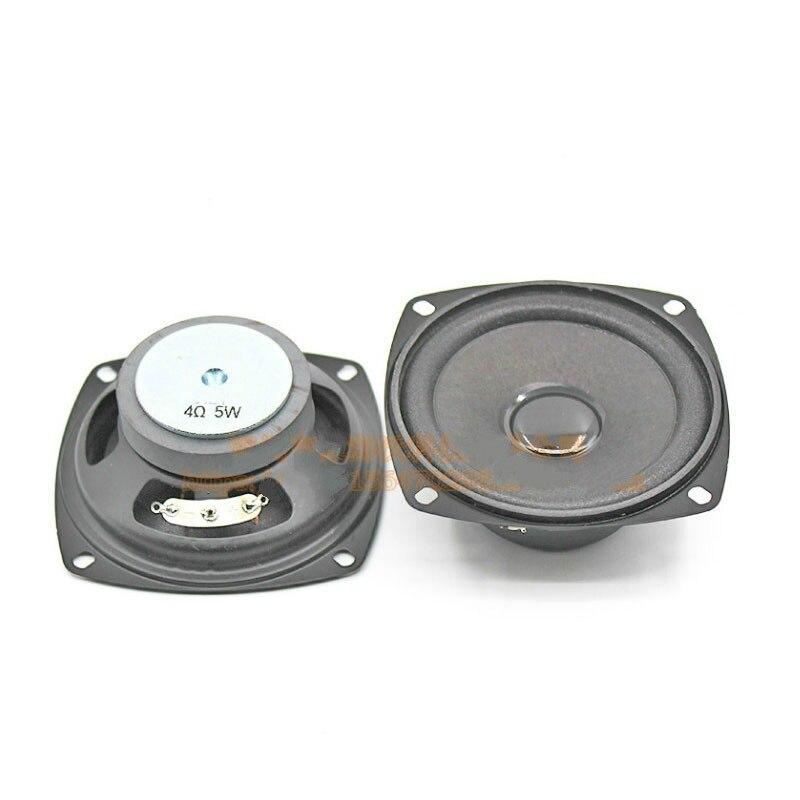 SOTAMIA 2 uds 3 pulgadas altavoces de Audio de sonido portátil Diver 4 Ohm 5W DIY Bluetooth Estéreo amplificador de música altavoz para cine en casa
