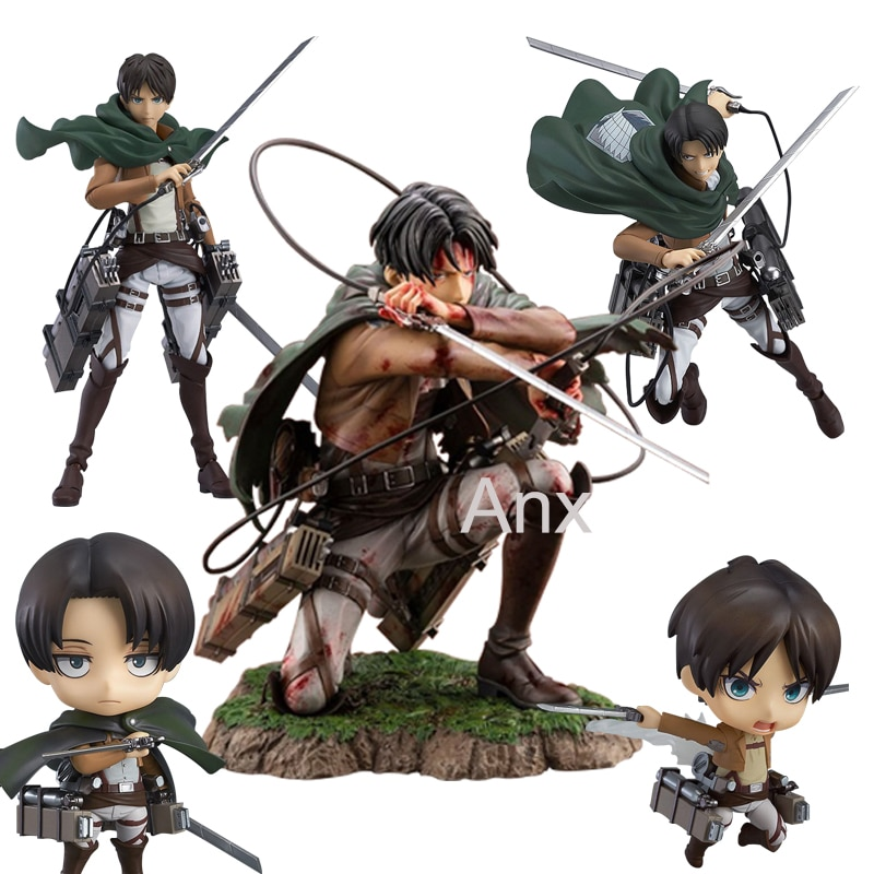 18cm deluxe edition clown action figure neca shf it pennywise figures it model collection return soul 1990 halloween gift 10y05 18cm Attack on Titan Figure Rival Ackerman Action Figure Package Ver.  Levi PVC Action Figure Rivaille Collection Model Toys