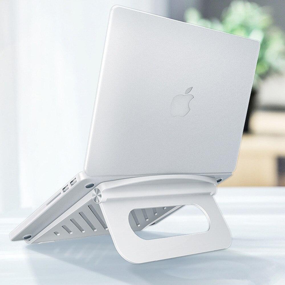 Suporte do Portátil para Macbook 10 a 17 Ajustável Mesa Ergonômico Portátil Pro Chromebook Suporte Notebook Polegada Abs