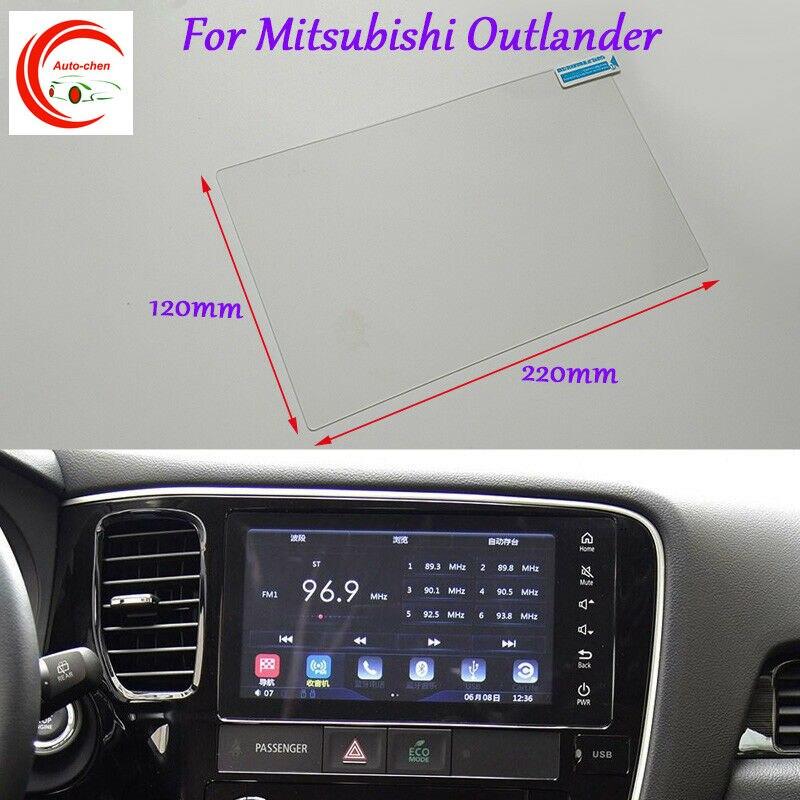 8 дюймов Автомобильный gps-навигатор Экран защитная пленка на стекло мобильного телефона для Mitsubishi Outlander интерьер стикеры аксессуары