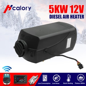 5KW 24V Adjustable Car heater diesels Air parking heater+New LCD Monitor+remote control For Trucks RV Motorhome Bus Trailer