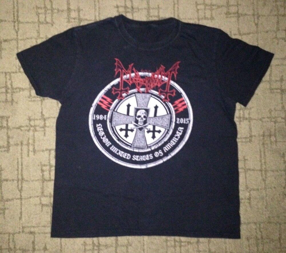 Caos Moonsorrow rotting Christ TOUR Gran Marduk vil Morbid Angel gigante tamaño grande camiseta