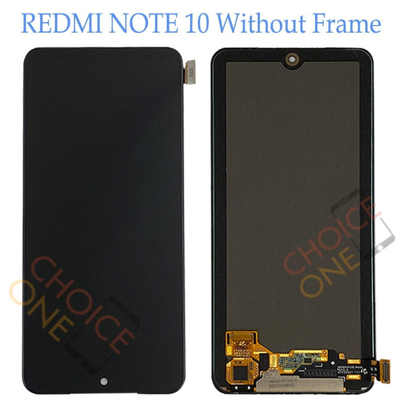 AMOLED LCD For Xiaomi Redmi Note 10 Screen Display Touch Panel Digitizer Replacement Screen For Xiaomi Redmi Note 10 Pro enlarge