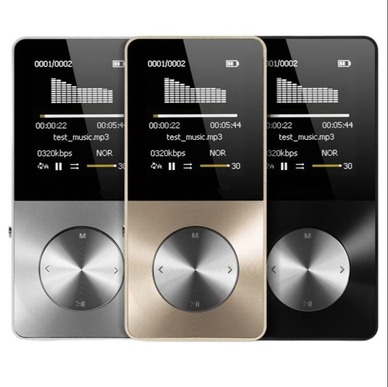 مشغل MP3 من سبائك الألومنيوم بسعة 16 جيجابايت ، 2021 ، مع مكبر صوت مدمج ، مشغل HIFI ، ووكمان ميجابكسل ، و 4 مشغلات فيديو ، ومشغل موسيقى mp4 بدون خسارة