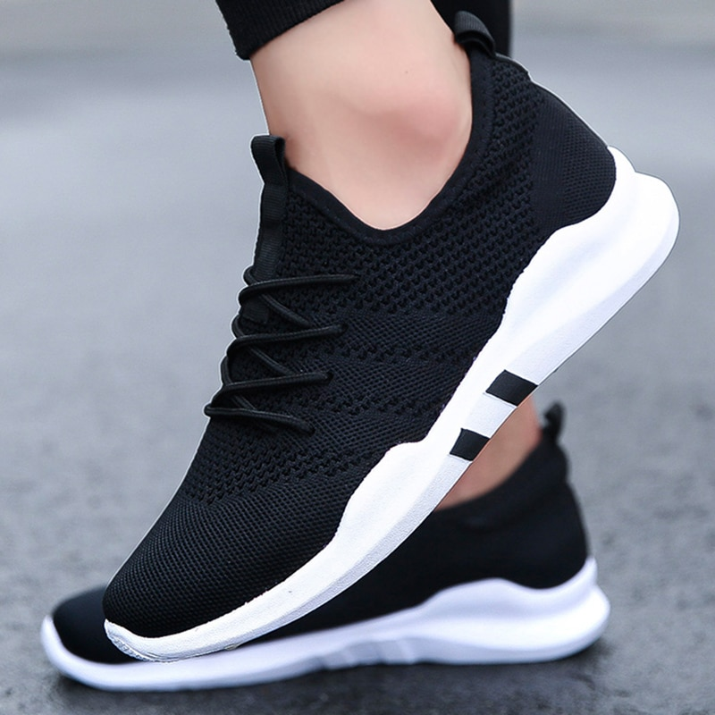 Men's Breathable Running Shoes 47 Large Size Fashion Lightweight Couple Sneakers 46 Casual Outdoor M