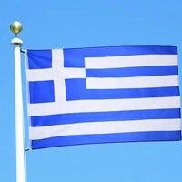 3ft x 5ft hanging greek flag polyester standard flag banner outdoor indoor 15090cm flag greece flag home decoration