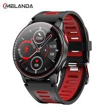 Новинка 2021, умные часы IP68, водонепроницаемые спортивные мужские и женские умные часы с Bluetooth, фитнес трекер, монитор сердечного ритма для Android и IOS