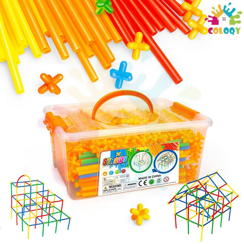 COLOQY Toys 4D Plastic Stitching Inserted Construction Assembled Toy Blocks Bricks Educational Toys & Hobbies For Children enlarge