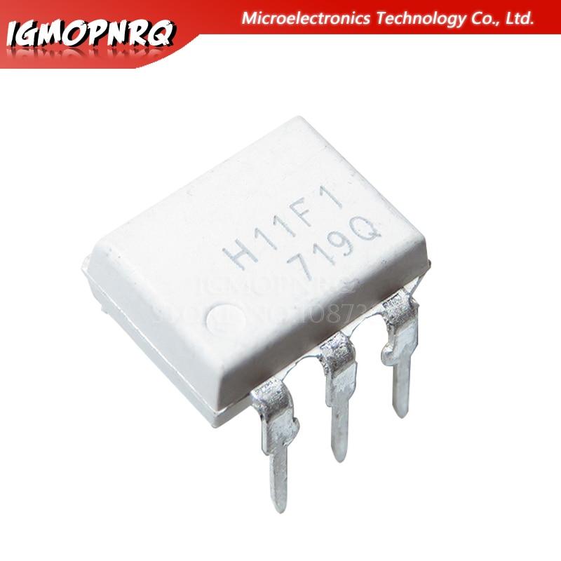 10PCS H11F1 H11 F1 DIP-6 Optocoupler