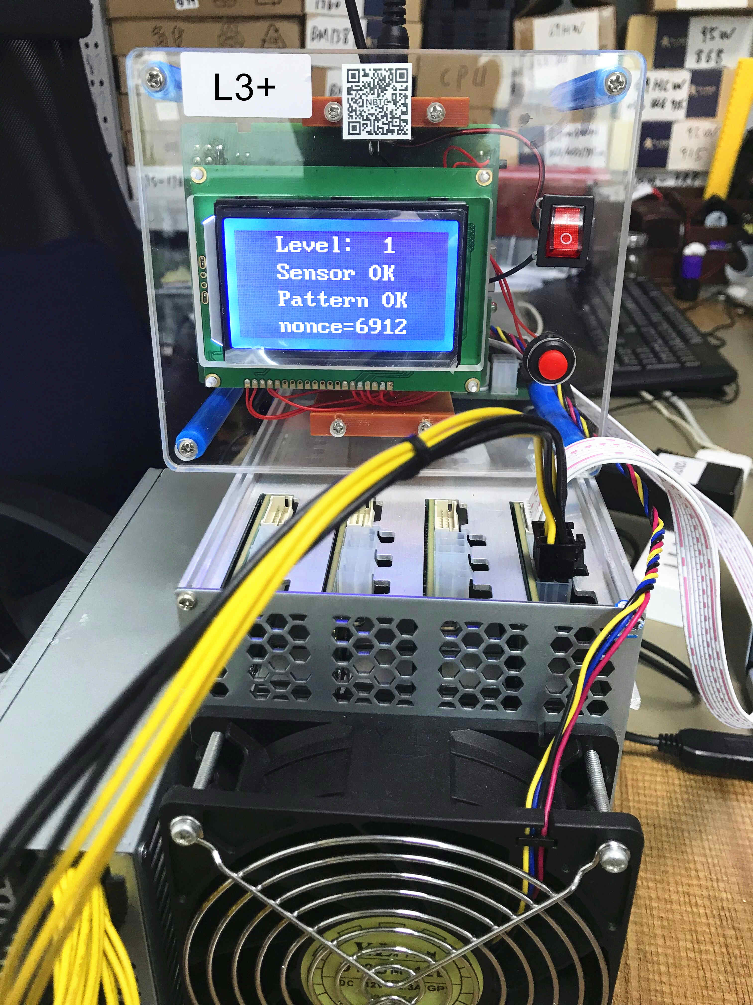 LTC مينر اختبار تركيبات L3 + hash مجلس اختبار إصلاح رقاقة BM1485 مع دليل إصلاح