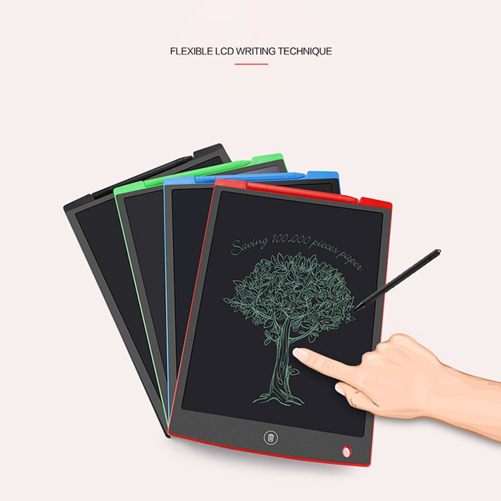 12 inch/8.5 inch Creative LCD Writing Drawing Tablet Drawing Doodle Graphic Board Digital Handwriting Notepad Kids Adult
