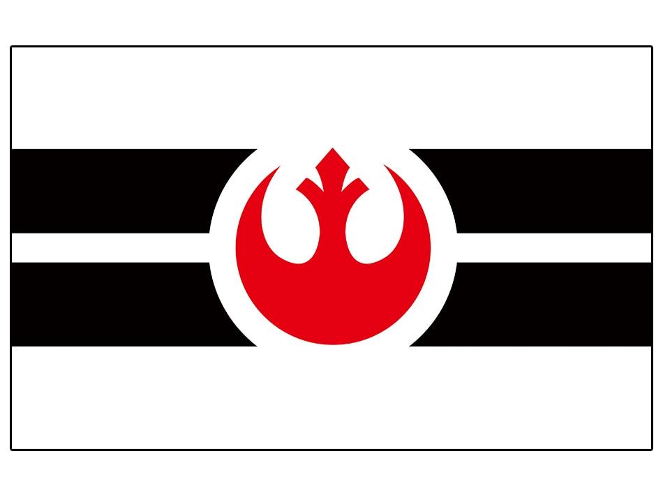 Star wars império galáctico da bandeira da bandeira do metal buraco Poliéster Qualidade