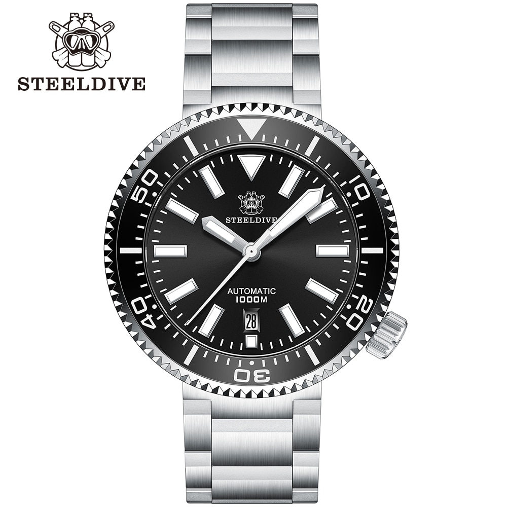 2020 New Steeldive Watch SD1976  Stainless Steel Diver with Ceramic Bezel NH35