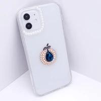 fashion luxury red rhinestones glitter diamond sunflower case for apple iphone 11pro ip 12 pro max 11 xr soft silicon cover capa